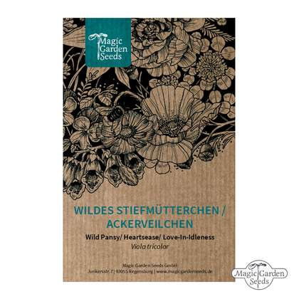 Wild pansy, heartsease, love-in-idleness (Viola tricolor)
