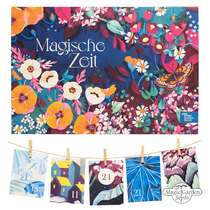 Colourful And Insect-Friendly Herbaceous Perennials, Summer Flowers And Wild Flowering Plants - Organic Seed Advent Calendar 2020 #0