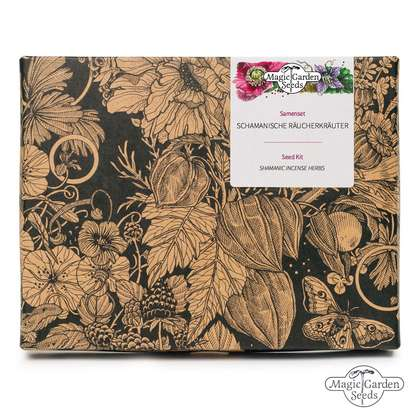 'Shamanic Incense Herbs'  seed kit gift box