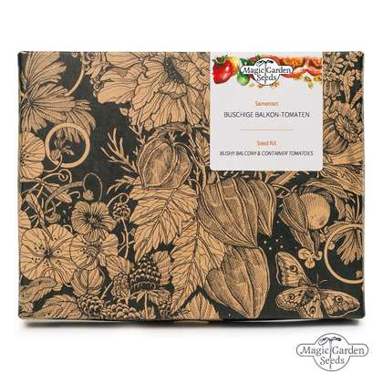 'Bushy Balcony & Container Tomatoes' seed kit gift box