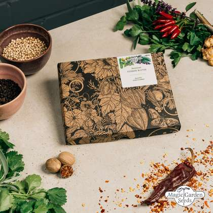 'Edible flowers' seed kit gift box