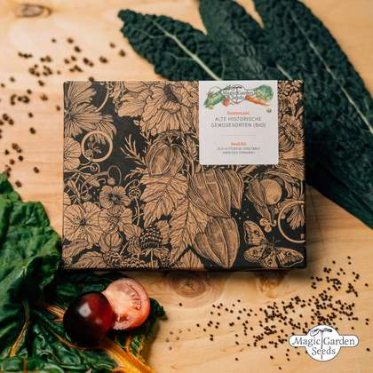 Old Historical Vegetable Varieties (Organic) - Seed kit gift box