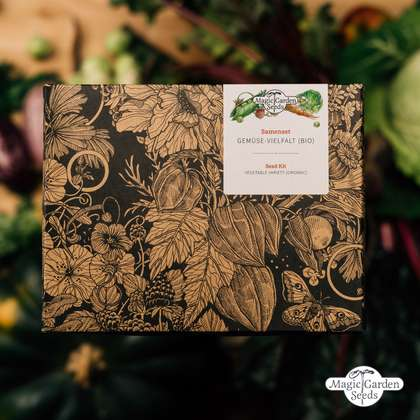 'Organic Vegetable Variety' seed kit gift box