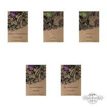 'Tropical agricultural crops: coffee, tea, rice, passion fruit & banana' seed kit gift box #4
