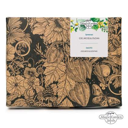 Edelweiss & Gentian - Seed kit gift box