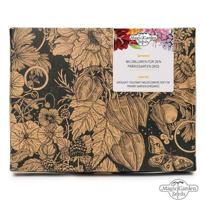 Drought Tolerant Wildflowers for the Prairie Garden (Organic) - Seed Kit Gift Box