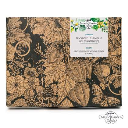 Traditional Native Medicinal Plants (Organic) - Seed kit gift box