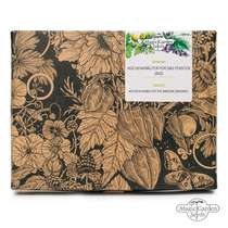 'Kitchen herbs for the window - organic' seed kit gift box #0