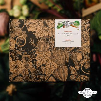 'Berry Snack Garden - Organic' Seed kit gift box