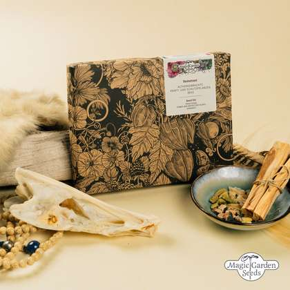 Traditional Power And Protective Plants (Organic) - Seed kit gift box
