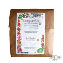 100 Seed Sachets for Self-Filling and Labelling for Self-Harvested Seeds #1