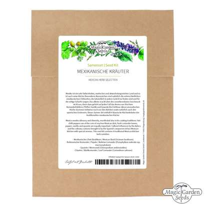 Mexican Herb Selection - Seed kit