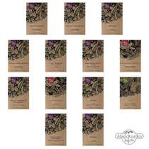 Exquisite Vegetable & Herbal Delicacies - Seed kit #1