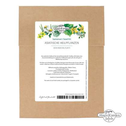 Asian Medicinal Plants - Seed kit
