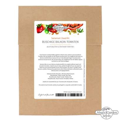 'Bushy Balcony & Container Tomatoes' seed kit