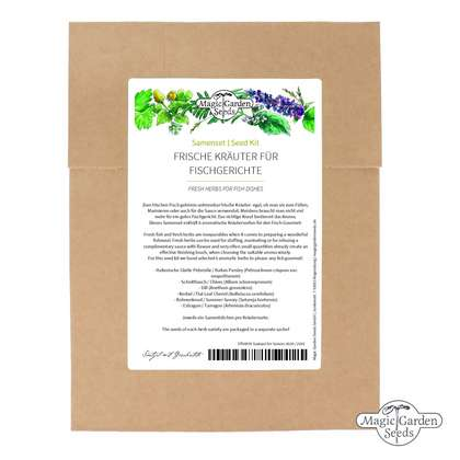 Fresh Herbs For Fish Dishes - Seed kit