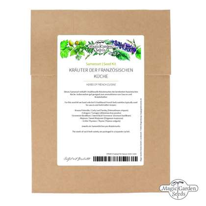 'Herbs of French cuisine' seed kit