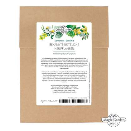 Traditional Medicinal Plants - Seed kit