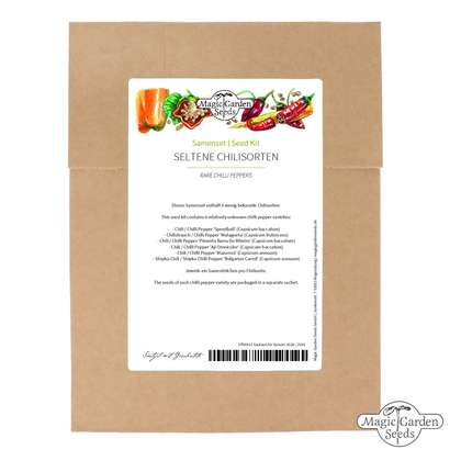 Seed kit: 'Rare chili peppers'