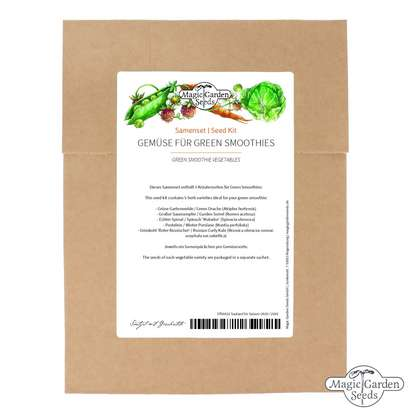 'Green smoothie vegetables' seed kit