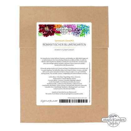 'Romantic Flower Garden' seed kit