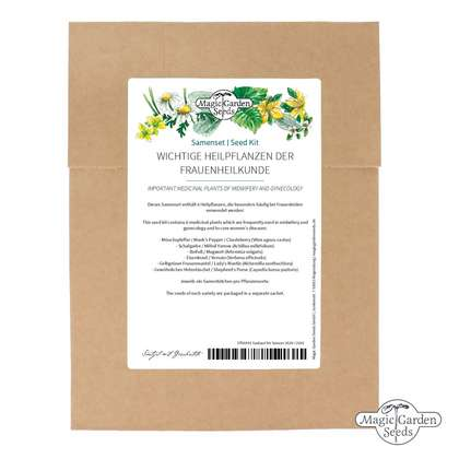 'Important medicinal plants of midwifery and gynecology', seed kit