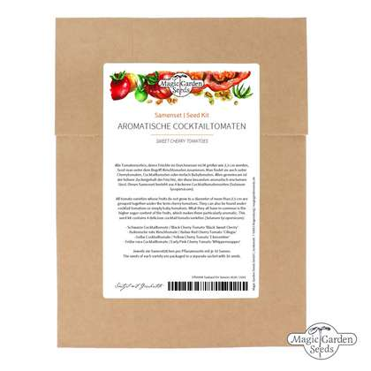 'Sweet Cherry Tomatoes' seed kit