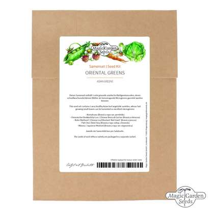 Asian Greens - Seed kit