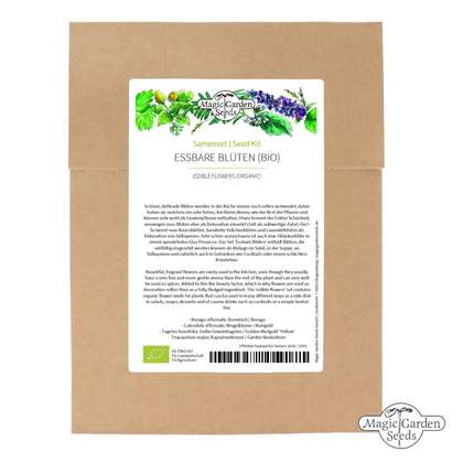 Seed kit: 'Edible flowers - organic'