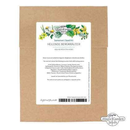 Healing Mountain Herbs - Seed kit