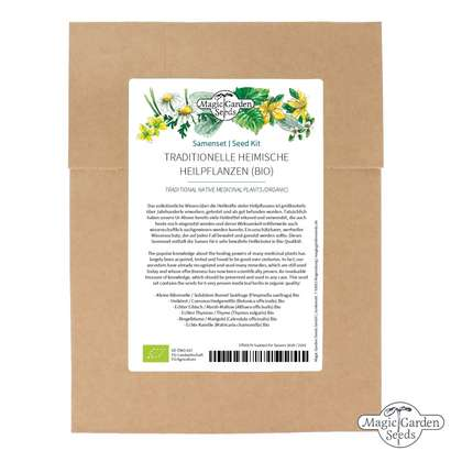 Traditional Native Medicinal Plants (Organic) - Seed kit