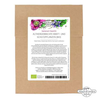 Traditional Power And Protective Plants (Organic) - Seed kit